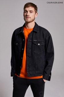 Calvin Klein Jeans Black Dad Denim Jacket