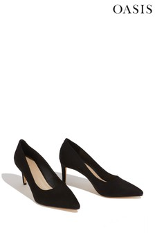 Oasis Black Kendall Court Shoes