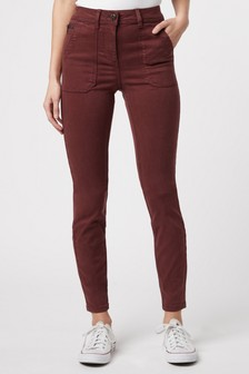 Utility Skinny Trousers