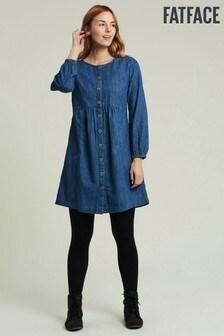 FatFace Mina Denim Dress