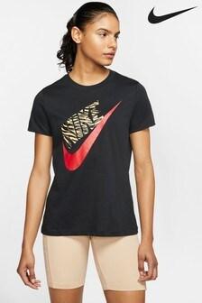 Nike Animal Print Futura T-Shirt
