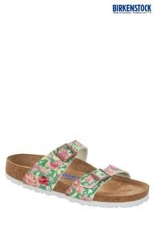 Birkenstock® Green Floral Sydney Sandals