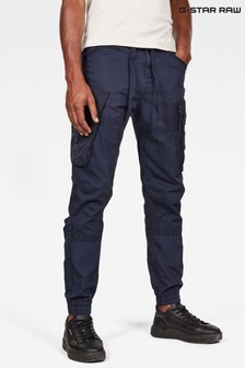 G-Star Blue Atoll Trainer Cuffed Trousers