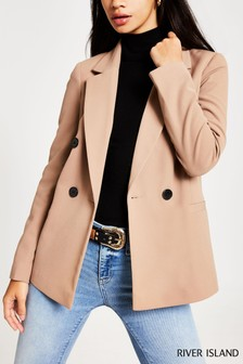 River Island Camel Hayley Jacket