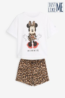 Kids Matching Family Minnie Mouse™ Short Set Pyjamas (3-12yrs)
