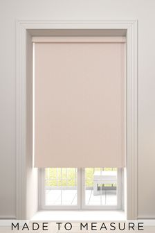 Raya Shell Pink Made To Measure Roller Blind