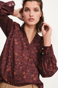 Cotton Poplin Overhead Shirt