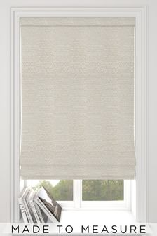 Makrana Champagne Cream Made To Measure Roman Blind