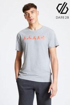 Dare 2b Grey Integrate Printed T-Shirt