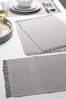 Set of 4 Corded Placemats