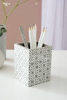 Geo Tile Pen Pot