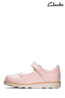 Clarks Pink Crown Jump T Shoes