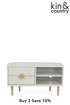Kin And Country Luca Corner TV Unit