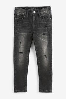 Skinny Fit Distressed Jeans (3-16yrs)