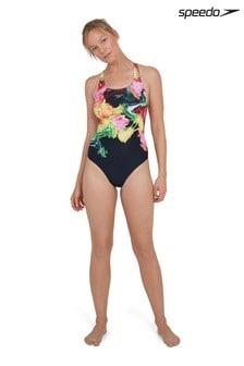 Speedo® Colour Blend Powerback Swimsuit