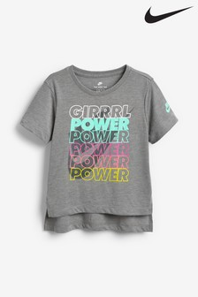 Nike Little Kids Grey Power T-Shirt