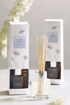 Set of 2 Linen 40ml Diffusers