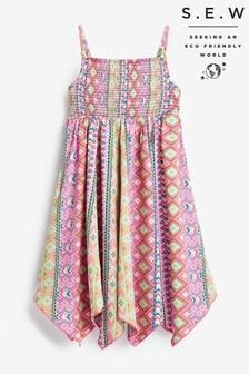 Monsoon Pink S.E.W Xena Dress