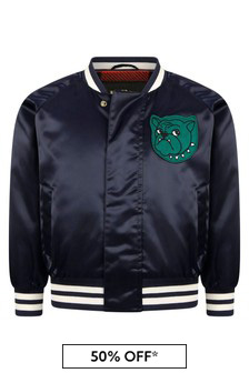 Mini Rodini Boys Navy Jacket