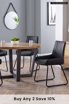 Set of 2 Soho Chairs by Julian Bowen
