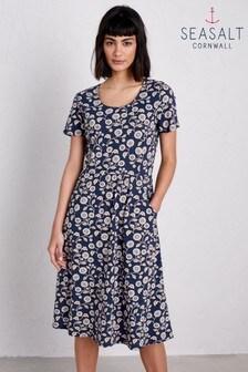 Seasalt Enor Dress Morris Floral Magpie