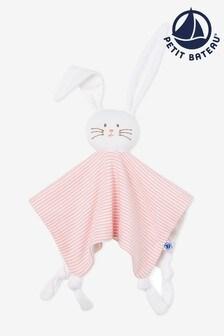 Petit Bateau Pink Bunny Comforter