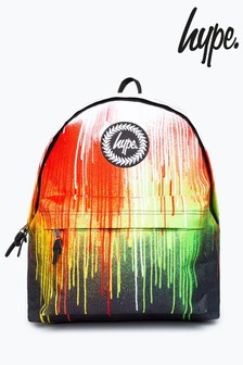 Hype. Multi Rainbow Drips Backpack