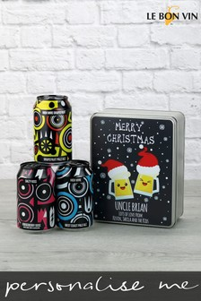 Personalised Pale Ale Gift Tin by Le Bon Vin