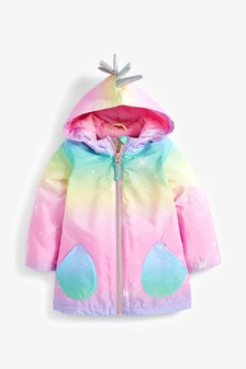 Unicorn Shower Resistant Jacket (3mths-7yrs)