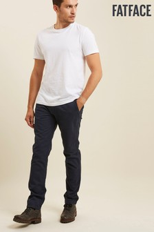 FatFace Blue Slim Coastal Chinos