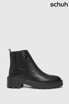 Schuh Adeline Quilt Detail Chelsea Boots