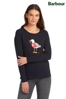 Barbour® Coastal Christmas Puffin Langstone Long Sleeve T-Shirt