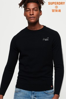 Superdry Micro Stripe Crew Jumper