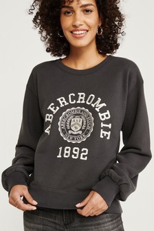 Abercrombie & Fitch Black Jumper