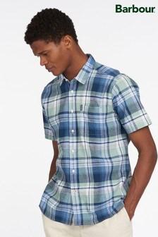 Barbour® Linen Check Short Sleeve Shirt