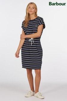 Barbour® Coastal Navy Stripe Marloes Jersey Dress