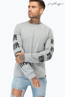 Hype. Long Sleeved Logo T-Shirt