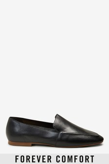 Signature Forever Comfort® Leather Square Toe Soft Loafers