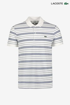 Lacoste® Pique Stripe Polo
