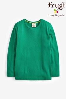 Frugi Jade GOTS Organic Long Sleeve T-Shirt