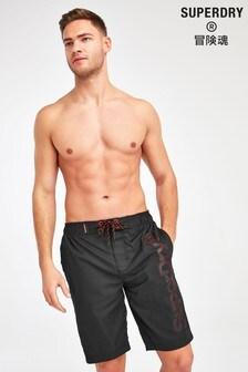 Superdry Black Board Shorts