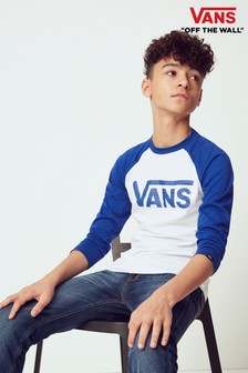 Vans Boys Classic Raglan T-Shirt