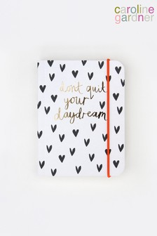 Caroline Gardner Mini Hearts Small Chunky Notebook