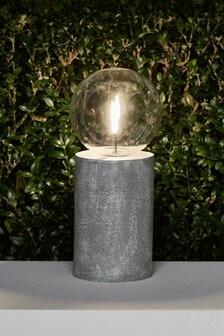 Concrete Effect Table Lamp