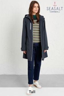 Seasalt Blue Midnight Coverack Coat