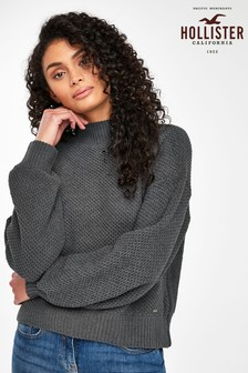 Hollister Charcoal Jumper