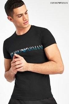 Armani Black Logo T-Shirt