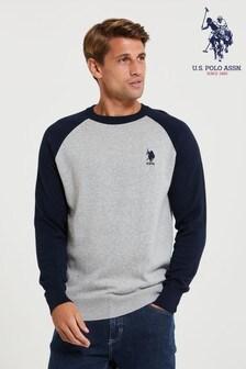 U.S. Polo Assn. Raglan Jumper