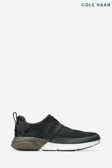 Cole Haan Black Zerogrand Stitchlite Slip-On Runner Trainers