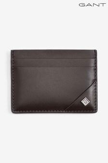 GANT Brown Leather Cardholder